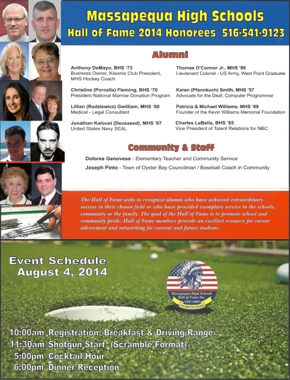 The 2014 HJP Golf Outing
